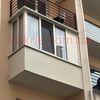 Цена остекления балконов разных форм в Киеве