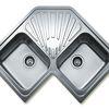 Кухонные мойки Тека: преимущества и варианты материалов производства
