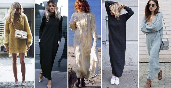 Особенности выбора зимних платьев