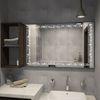Без этого зеркало в ванную комнату помещать нельзя