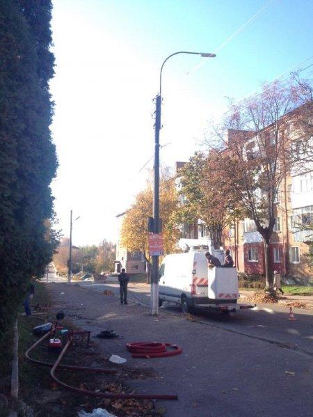 Як зробили освітлення на вулиці Терещенків