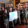 День Соборності України в районній бібліотеці для дітей святкували разом з кадетами 5-А класу ЗОШ№6.
