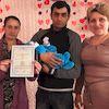 На Глухівщині проведена урочиста реєстрація  народження дитини