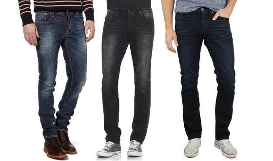 Модные мужские джинсы: обзор моделей