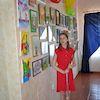 В районной библиотеке для детей открылась детская художественная выставка