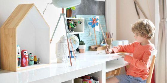 Как правильно организовать рабочее место для ребенка