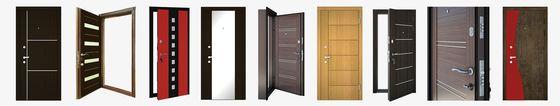 Выбор входных металлических дверей