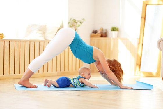 Спорт для мамочек: как все грамотно организовать свои занятия