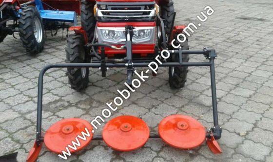 Многофункциональные мотоблоки: навесное оборудование, моторы, запасные части