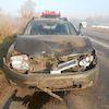 На автотрасі Суми-Путивль зіткнулися чотири машини – поліція встановлює обставини ДТП