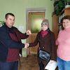 Вручено 4 ключі від омріяних квартир: результат роботи соціального сектору Шалигинської ОТГ