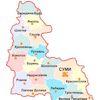 Чисельність населення (за оцінкою) по містах обласного значення та районах Сумської області на 1 січня 2021 року та середня чисельність у 2020 році