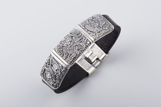 Роскошные браслеты из бронзы и серебра украинского производства